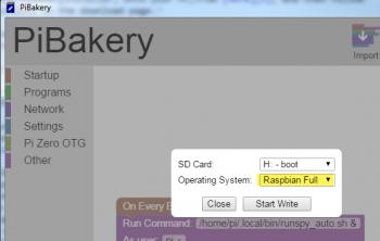 Full Raspbian OS