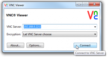 VNC Viewer connect