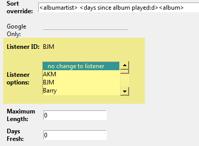 assign the playlist to a Google account
